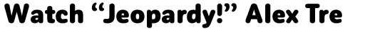 Corporative Sans Round Condensed Black sample