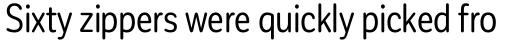 Corporative Sans Round Condensed Regular sample