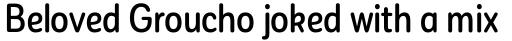 Corporative Sans Round Condensed Alt Medium sample