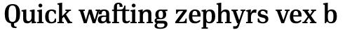 PF DIN Serif Medium sample