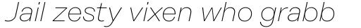 Rational Display Thin Italic sample