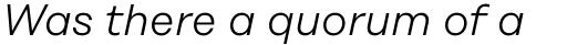 Rational Text Light Italic sample