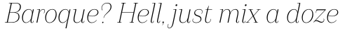 Camila Light Italic sample
