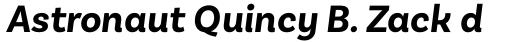 Basic Sans Bold Italic sample