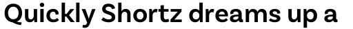 Basic Sans Semi Bold sample