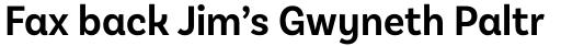 Basic Sans Alt Narrow Semi Bold sample