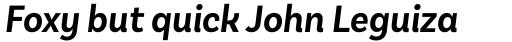 Basic Sans Narrow Semi Bold It sample