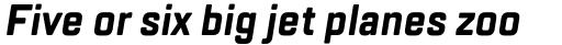 TT Lakes Condensed Bold Italic sample