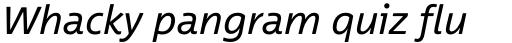 Between Pro 2 Italic sample
