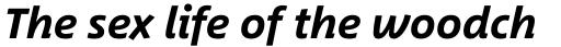 Between Pro 3 Bold Italic sample