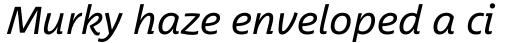 Between Pro 3 Italic sample