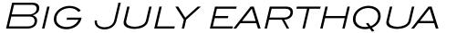 ITC Blair Pro Light Italic sample