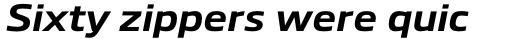 Boxley Bold Italic sample