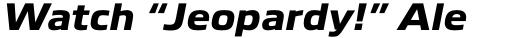 Boxley Extra Bold Italic sample