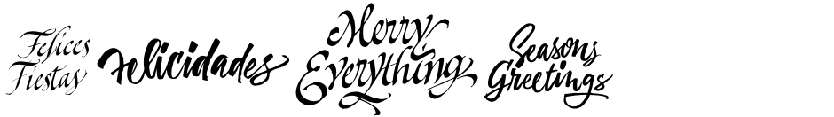 Click to view  Xmas Wishes font, character set and sample text