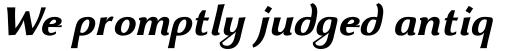 Beatrix Antiqua Bold Italic sample