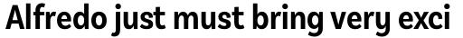 Basic Sans Alt Cnd Semi Bold sample