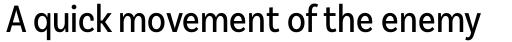 Basic Sans Cnd Regular sample