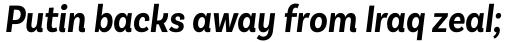 Basic Sans Cnd Semi Bold It sample