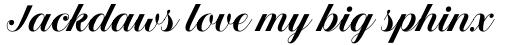 Estampa Script Semi Bold sample