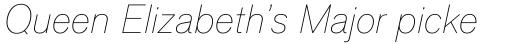 Applied Sans Pro Thin Italic sample