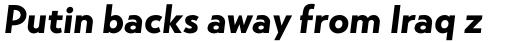 Atlan Bold Italic sample