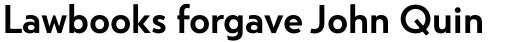 Atlan Semi Bold sample