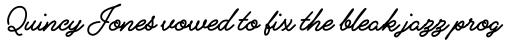 Alfons Script Extra Bold sample