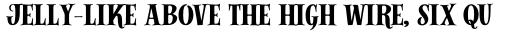 Alfons Serif Bold sample