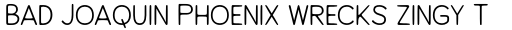Alfons Sans Regular sample