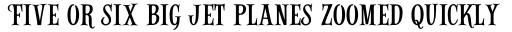Alfons Serif Regular sample