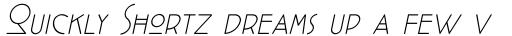 Cocotte ExtraLight Italic sample