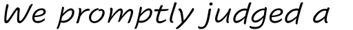 Cavolini Italic sample