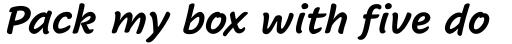 Cavolini Condensed Bold Italic sample