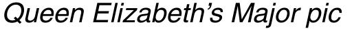 Helvetica Oblique sample