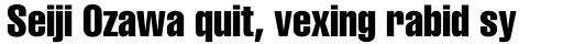 Helvetica Compressed sample