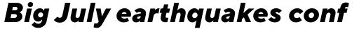 TT Norms Pro Extra Bold Italic sample