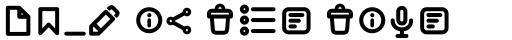 Antipasto Pro Antipasto Icons DemiBold sample