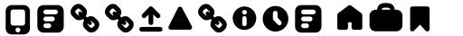 Antipasto Pro Antipasto Icons Bold sample