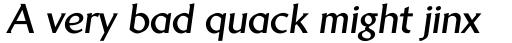 Brewery No 2 Pro Cyrillic Bold Italic sample