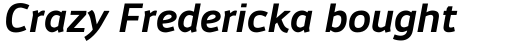 Engel New Sans Semi Bold Italic sample