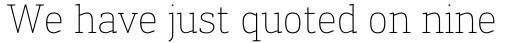 Engel New Serif Extra Light sample