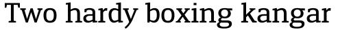 Engel New Serif Medium sample