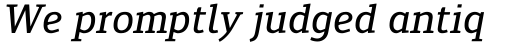 Engel New Serif Medium Italic sample