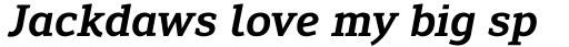 Engel New Serif Semi Bold Italic sample