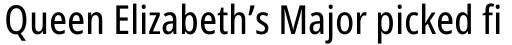 Handset Sans WGL Condensed Regular sample