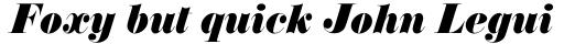 Annlie Extra Bold Italic sample