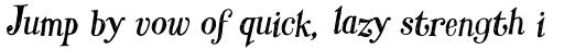 Hombre Pro Italic sample