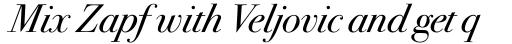 ITC Bodoni Seventytwo Std Book Italic sample