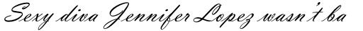 Vladimir Script Regular sample